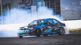 SOCAR is victorious at Day 1 of Georgian Drift Series 2021