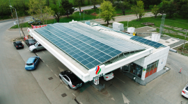 SOCAR Feeds filling stations with solar energy