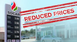 Fuel prices at SOCAR drops significantly