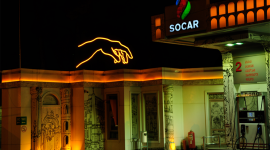 SOCAR station has turned into Capital of Italy